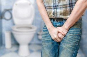 nietrzymanie moczu u mężczyzn