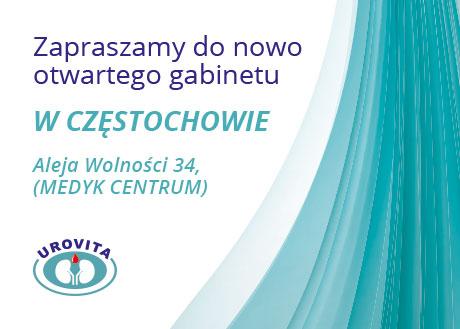 nowa pporadnia urologiczna Częstochowa Medyk Centrum